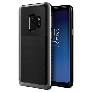 Чехол противоударный VRS Design High Pro Shield для Galaxy S9 Steel Silver