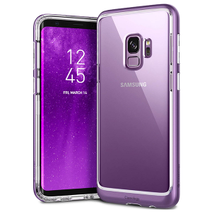 Чехол Caseology Skyfall Series для Galaxy S9 Lilac Purple
