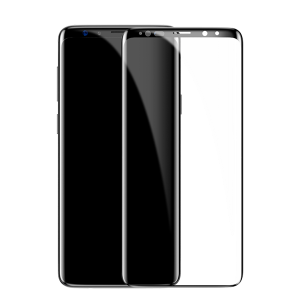 Стекло Baseus 0.3mm All-screen Arc-surface Tempered Glass для Galaxy S9 Черное