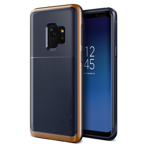 Чехол противоударный VRS Design High Pro Shield для Galaxy S9 Indigo Blush Gold
