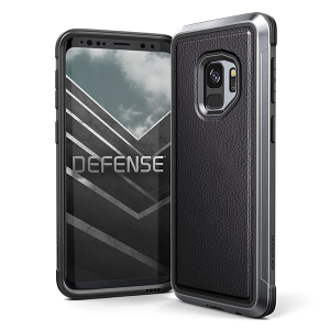 Чехол X-Doria Defense Lux для Galaxy S9 Black Leather
