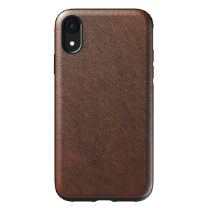 Чехол Nomad Rugged Leather для iPhone XR Rustic Brown