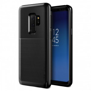 Чехол противоударный VRS Design High Pro Shield для Galaxy S9 Plus Metal Black