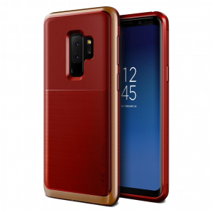 Чехол противоударный VRS Design High Pro Shield для Galaxy S9 Plus Red Blush Gold