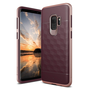 Чехол Caseology Parallax series для Galaxy S9 Burgundy / Rose Gold