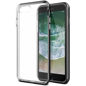 Чехол VRS Design New Crystal Bumper для iPhone 7/8 Plus Черный