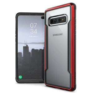 Чехол X-Doria Defense Shield для Samsung Galaxy S10+ Красный