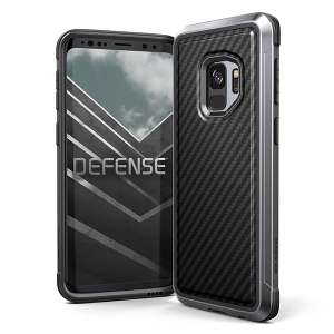 Чехол X-Doria Defense Lux для Galaxy S9 Black Carbon