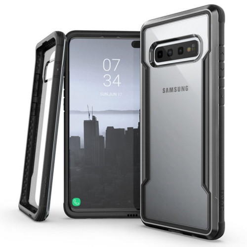 Чехол X-Doria Defense Shield для Samsung Galaxy S10+ Чёрный