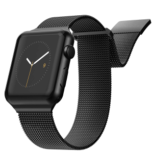 Ремешок X-Doria New Mesh для Apple Watch 38/40 мм Чёрный