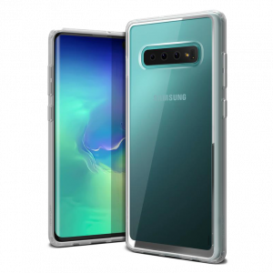 Чехол VRS Design Crystal Chrome для Galaxy S10 PLUS Clear