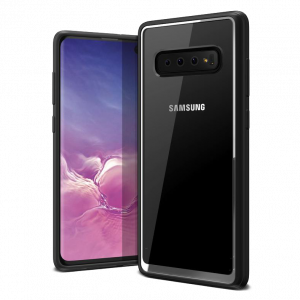 Чехол VRS Design Crystal Chrome для Galaxy S10 PLUS Black