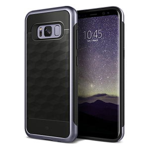 Чехол Caseology Parallax для Galaxy S8 Orchid Gray